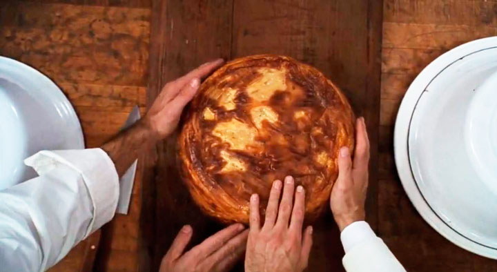 El timpano, receta secreta familiar.